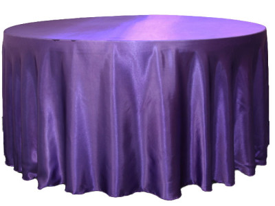 Satin Overlays and Tablecloths