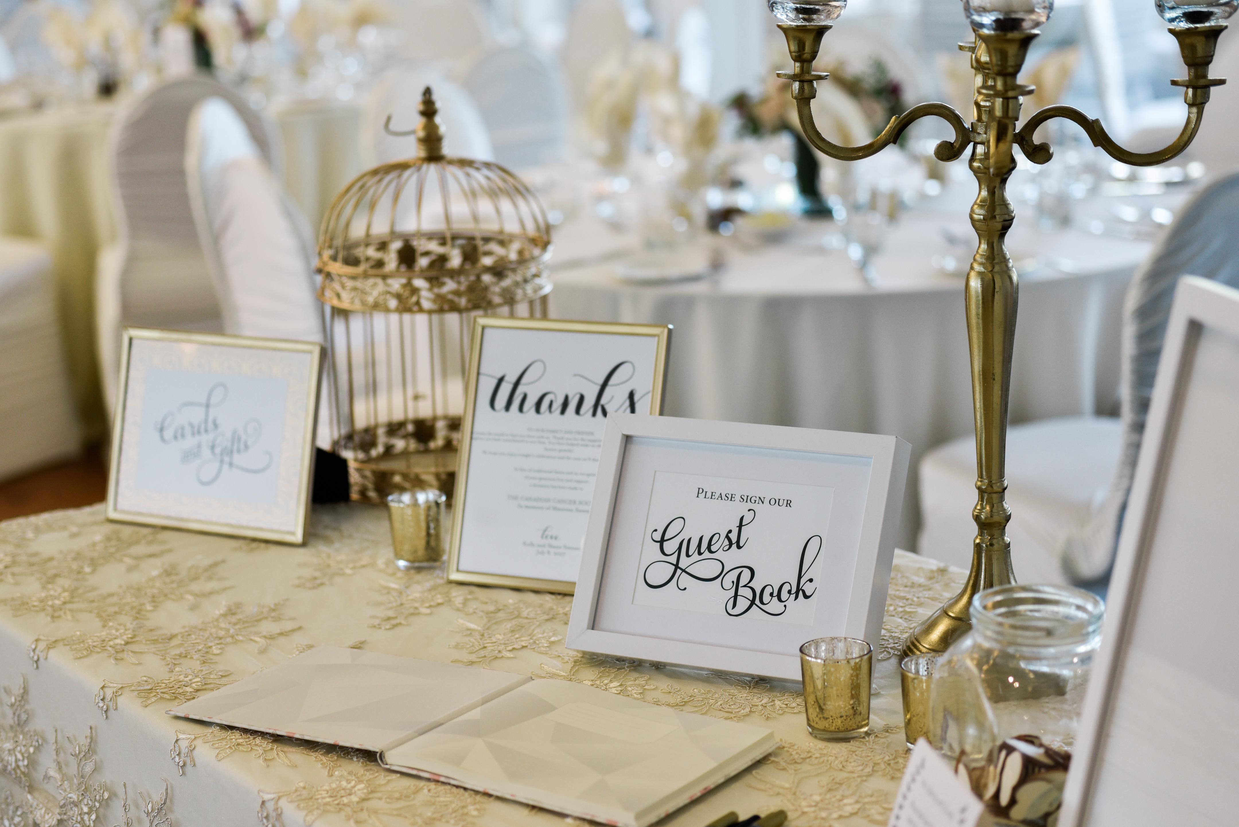 Wedding Decor - Ceremony & Reception Decor - Head Table, Backdrop at ...