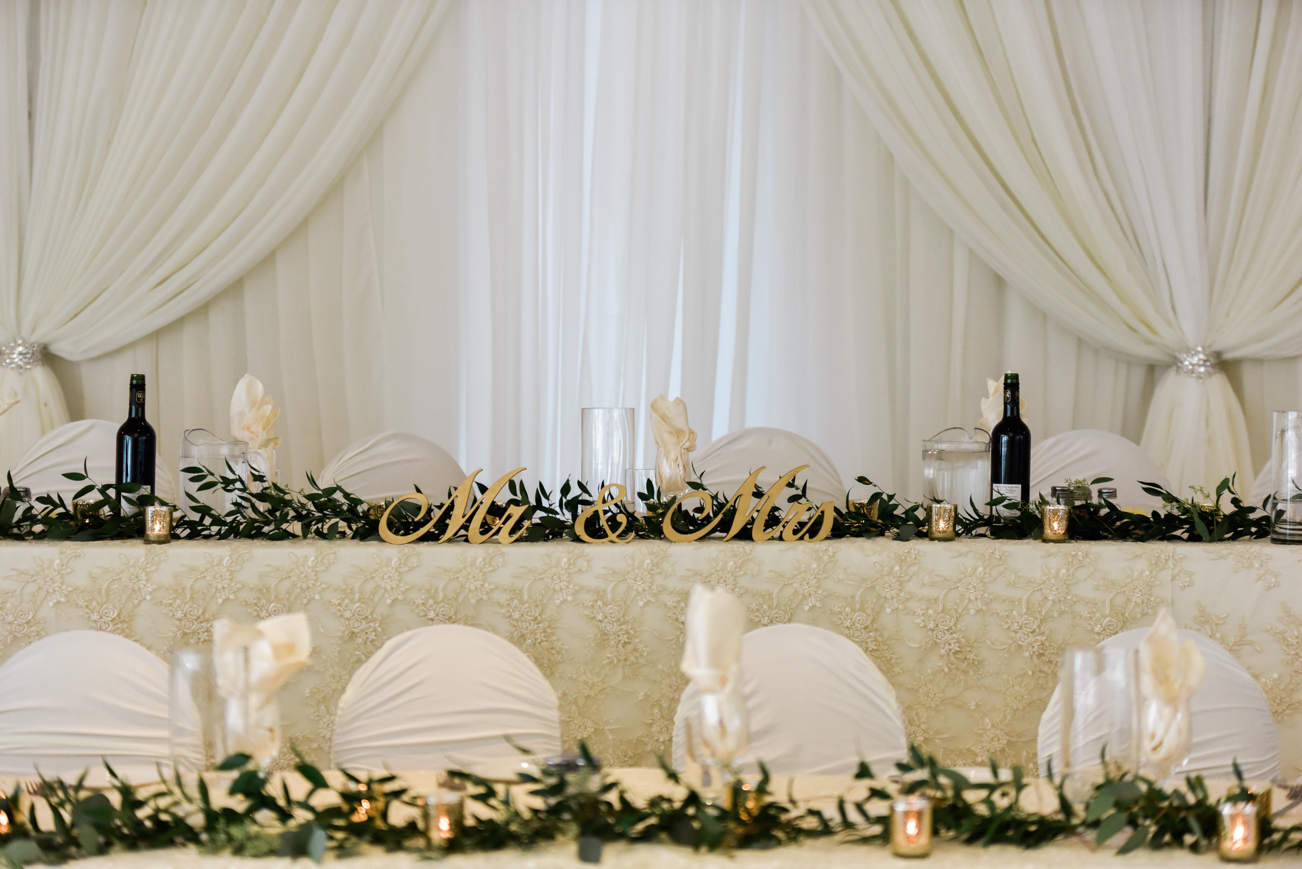 Wedding Decor Ceremony Amp Reception Decor Head Table