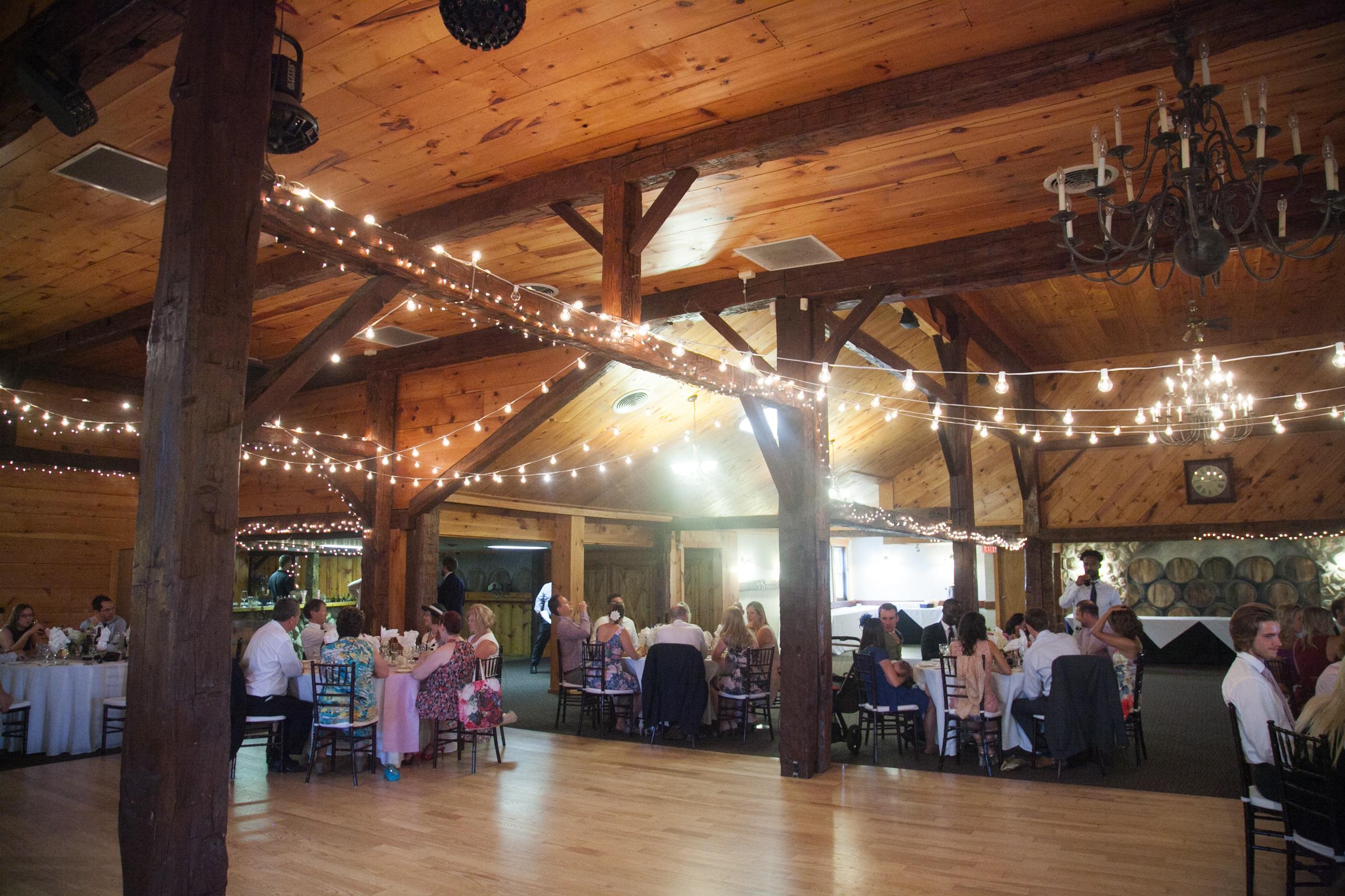 wedding decor - head table  lighting