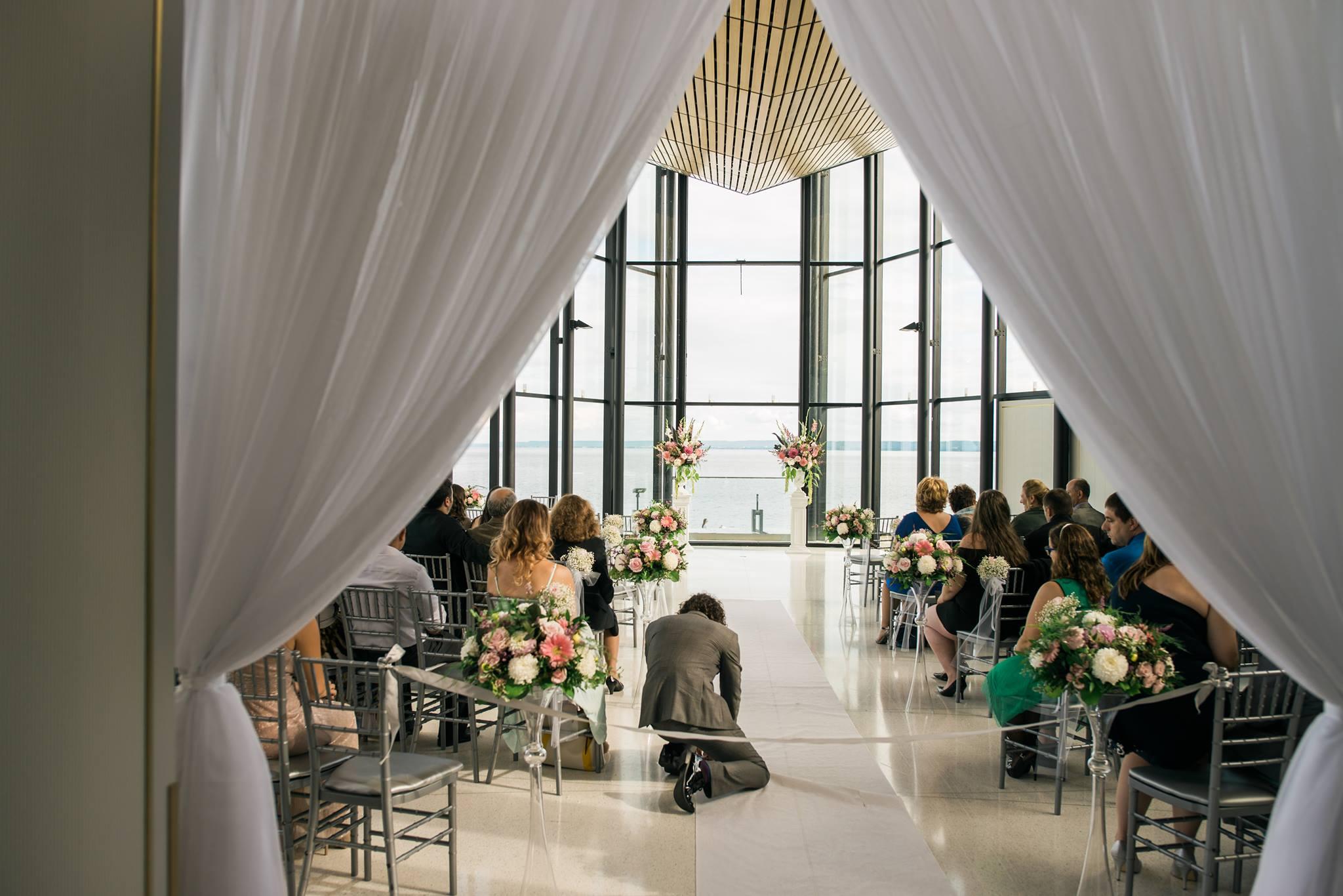 Wedding Decor Head Table Entrance Drapery Tabletop
