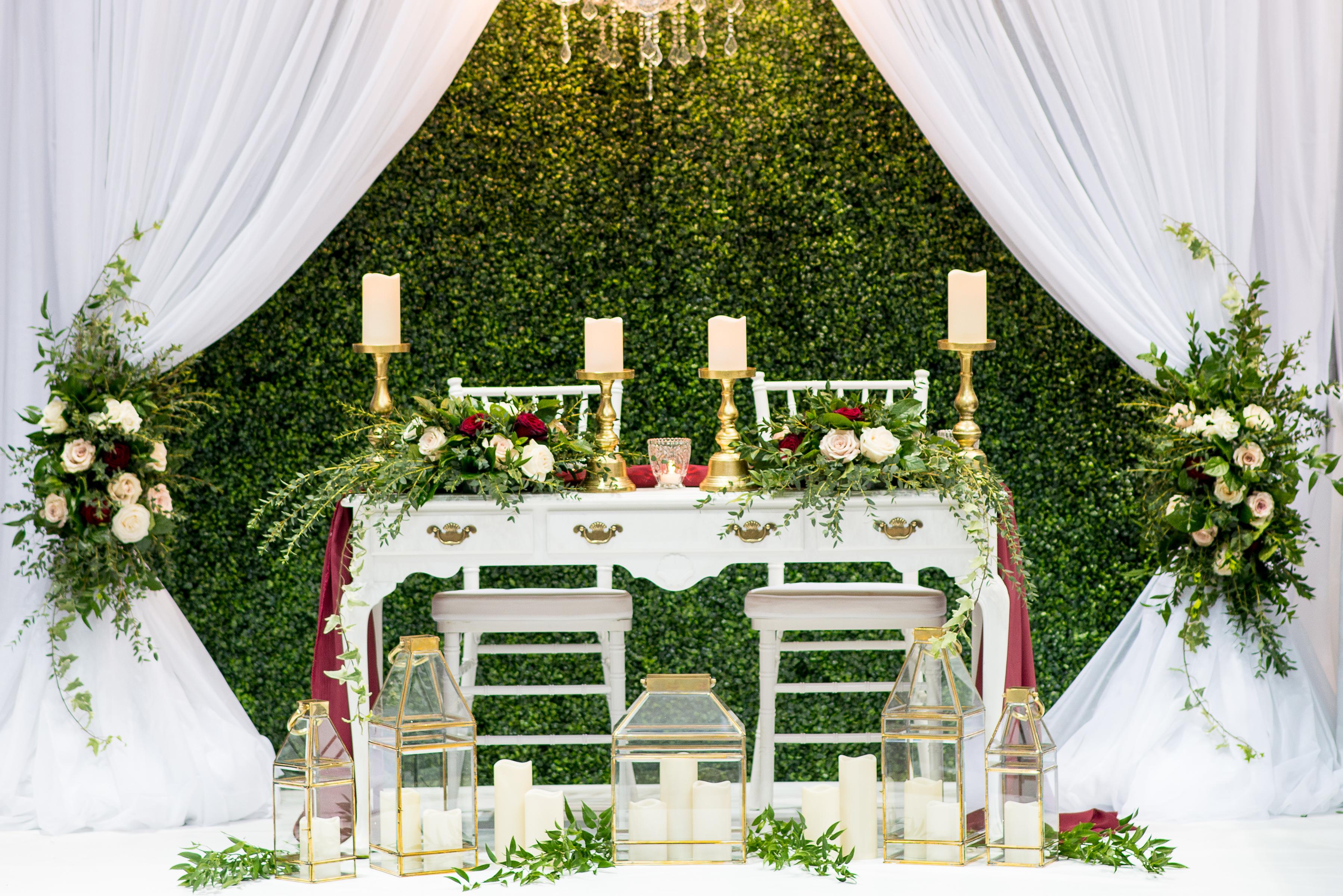 Hamilton Halton Spring Wedding Show 2018 Wedding Decor Booth Display