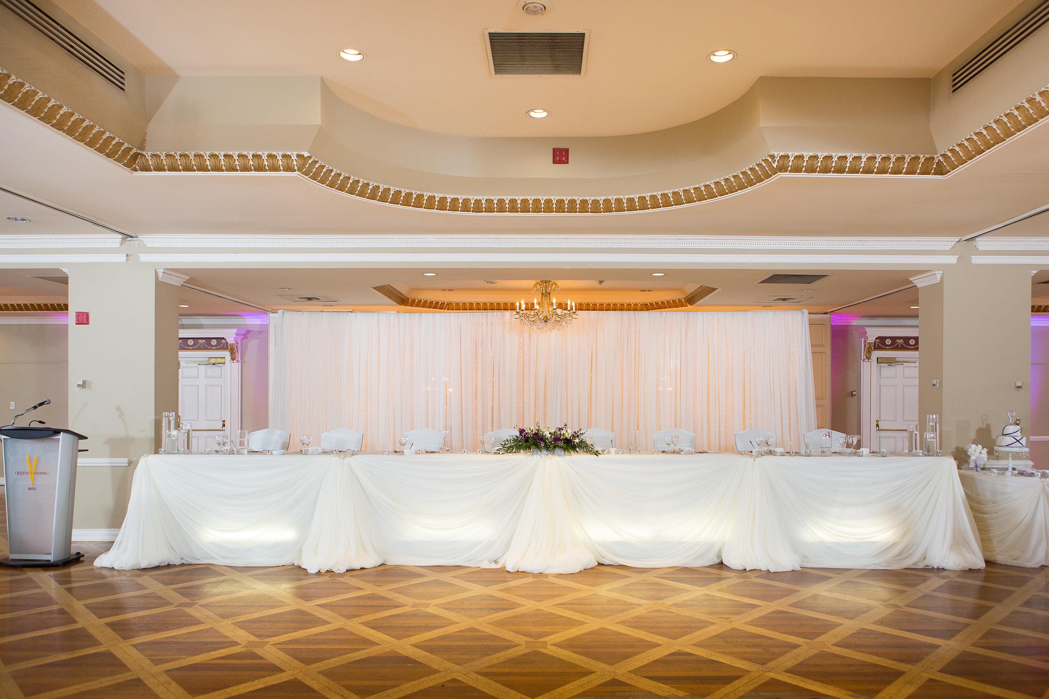 Wedding Decor Head Table Backdrop Ceremony Decor Queen